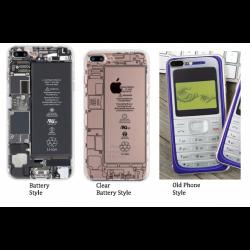 iPhone 6/7/7plus Soft Case - Assorted design